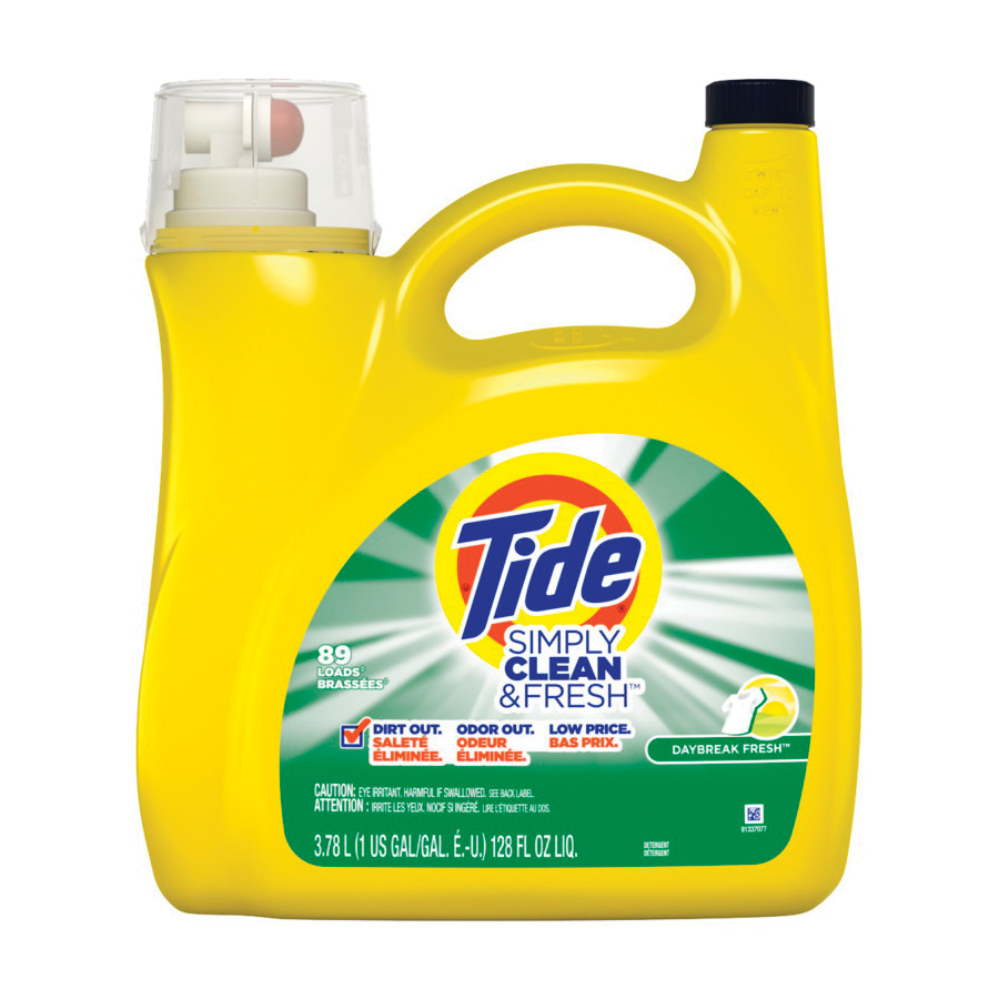 Picture of Tide 89135 Laundry Detergent, 138 oz, Liquid, Daybreak Fresh