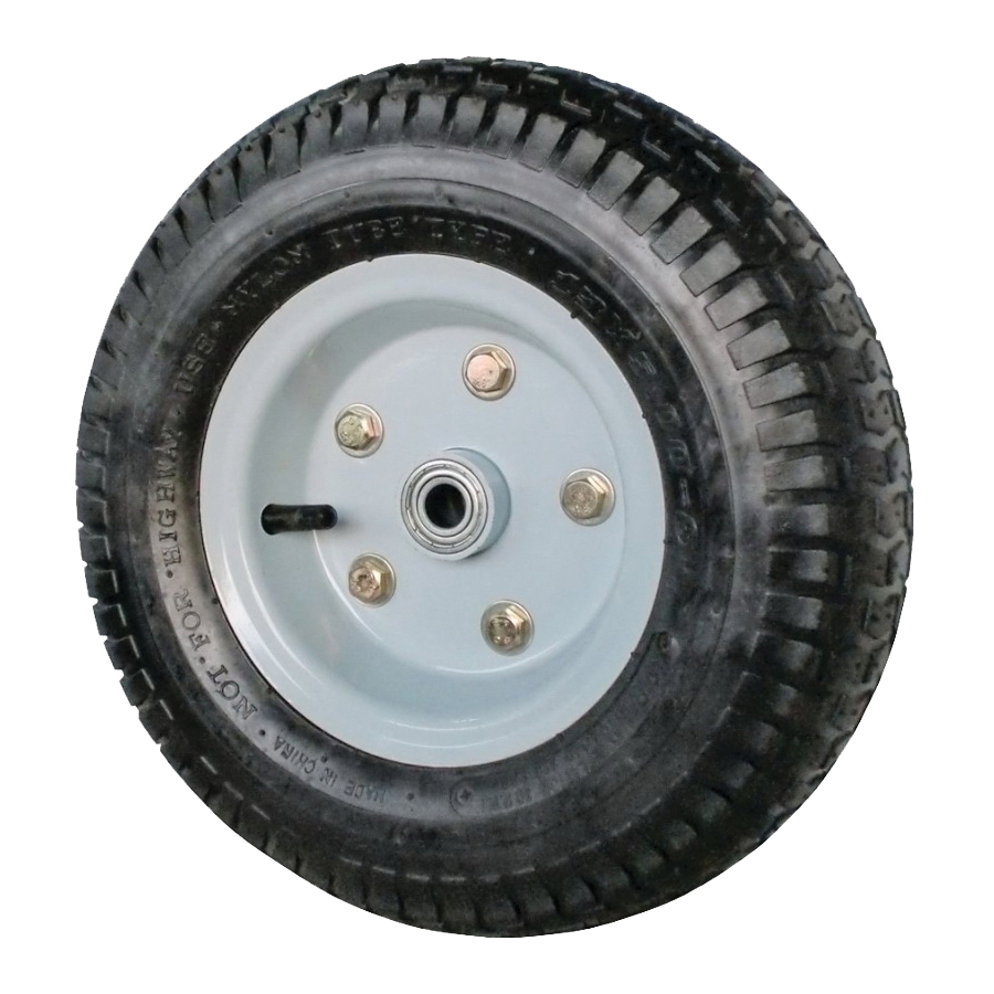 Picture of ProSource PR1356 Wheel with Tube, 13 in Dia Tire, 6 in W Tire, 2-3/4 in L Hub