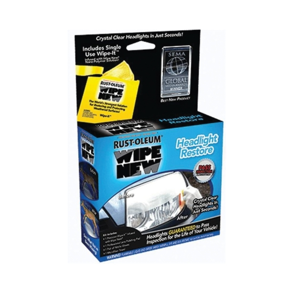 Picture of WIPE NEW HDLCAL Headlight Restore, 0.34 fl-oz Package, Liquid, Sweet