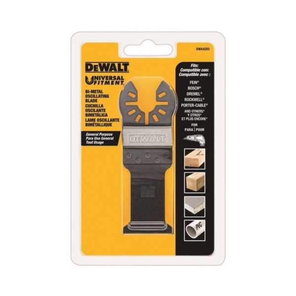 Picture of DeWALT DWA4203 Oscillating Blade, 1-1/4 in, HSS