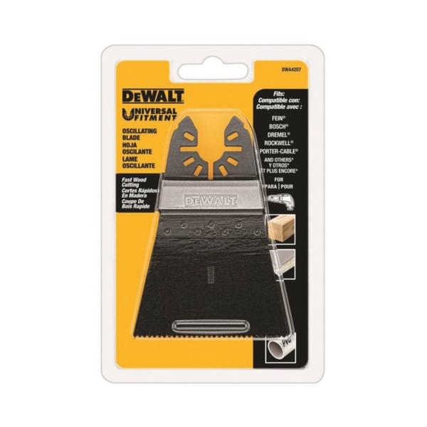 Picture of DeWALT DWA4207 Oscillating Blade, 2-1/2 in, HSS