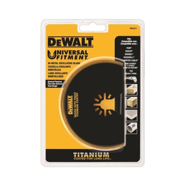 Picture of DeWALT DWA4211 Oscillating Blade, 4 in, Titanium