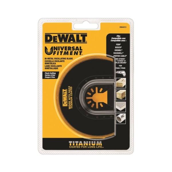 Picture of DeWALT DWA4213 Oscillating Blade, 4 in, Titanium