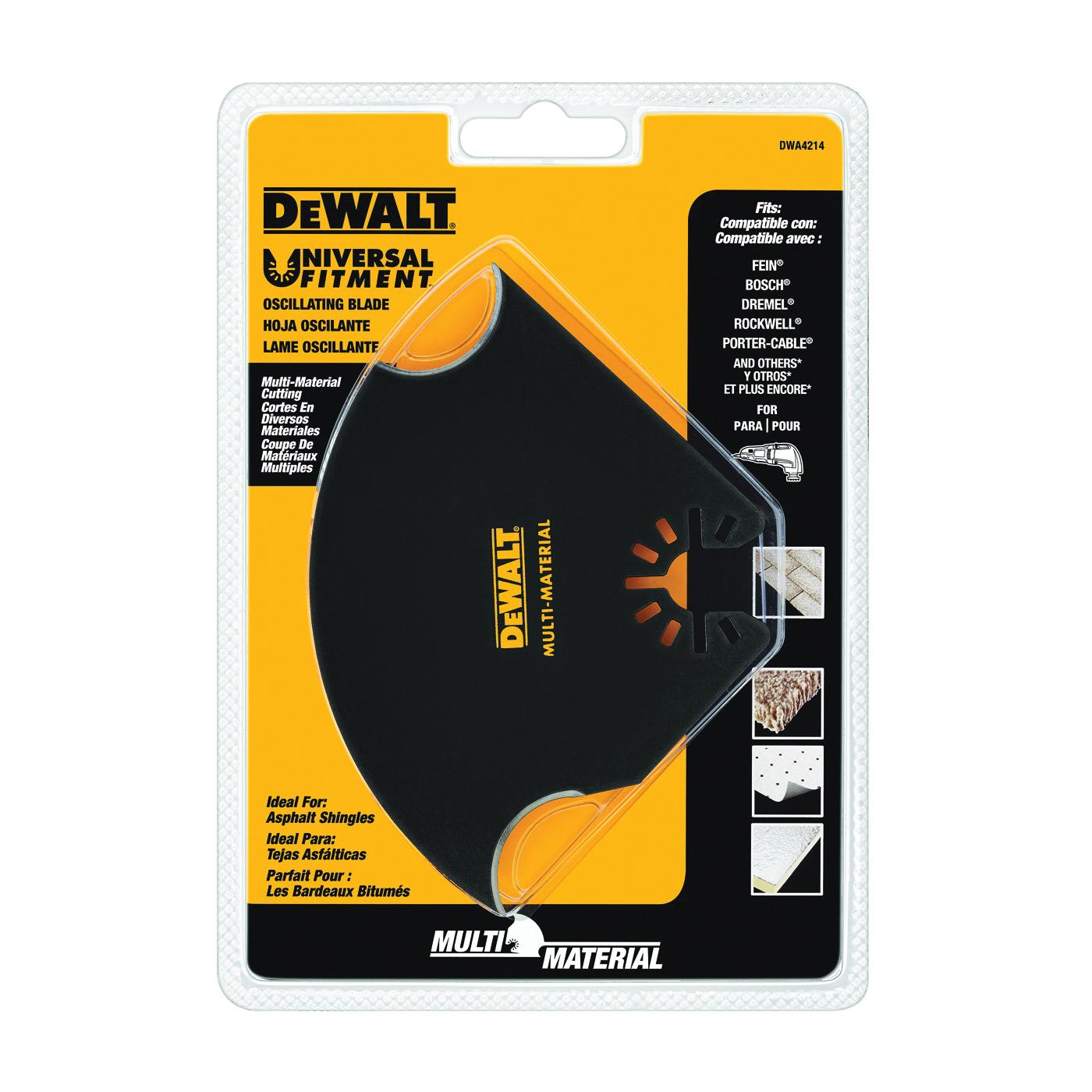 Picture of DeWALT DWA4214 Oscillating Blade, 5-1/2 in, HSS