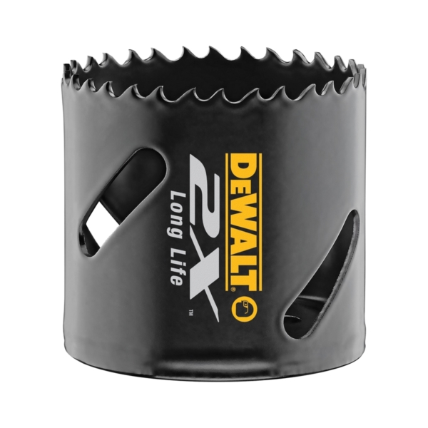 Picture of DeWALT DWA1828 Hole Saw, 1-3/4 in Dia, 1-13/16 in D Cutting, 5/8-18 Arbor, 4/5 TPI