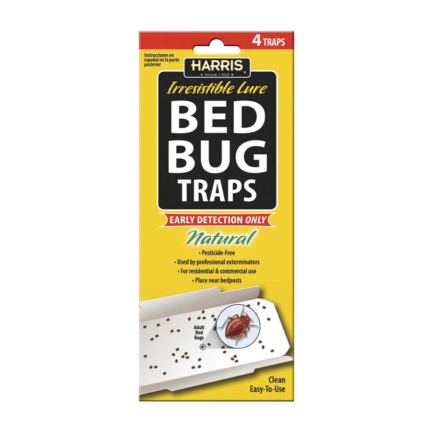 Picture of Harris BBTRP Bed Bug Trap, Solid
