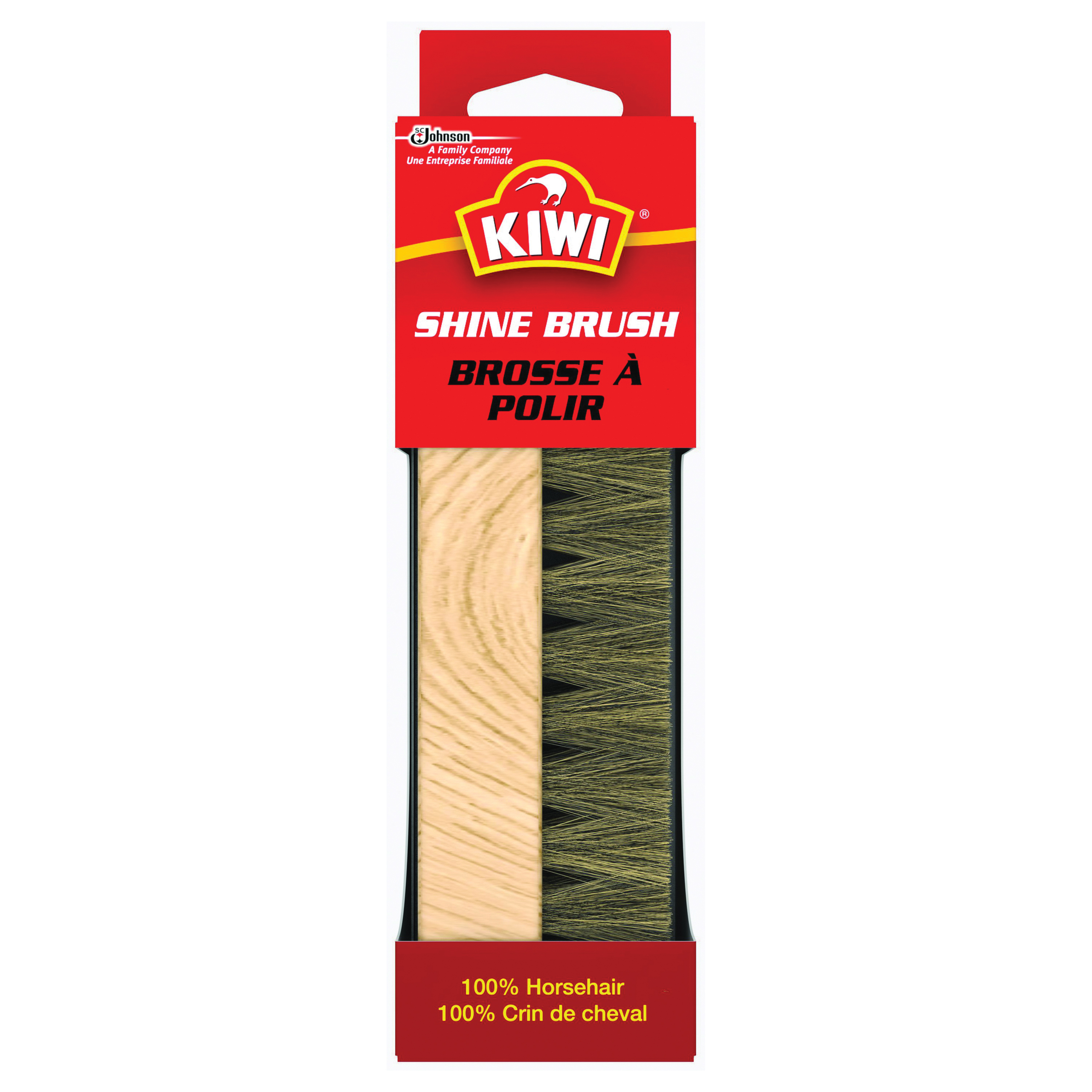 Picture of Kiwi 70309 Horsehair Brush, Horse Hair Bristle