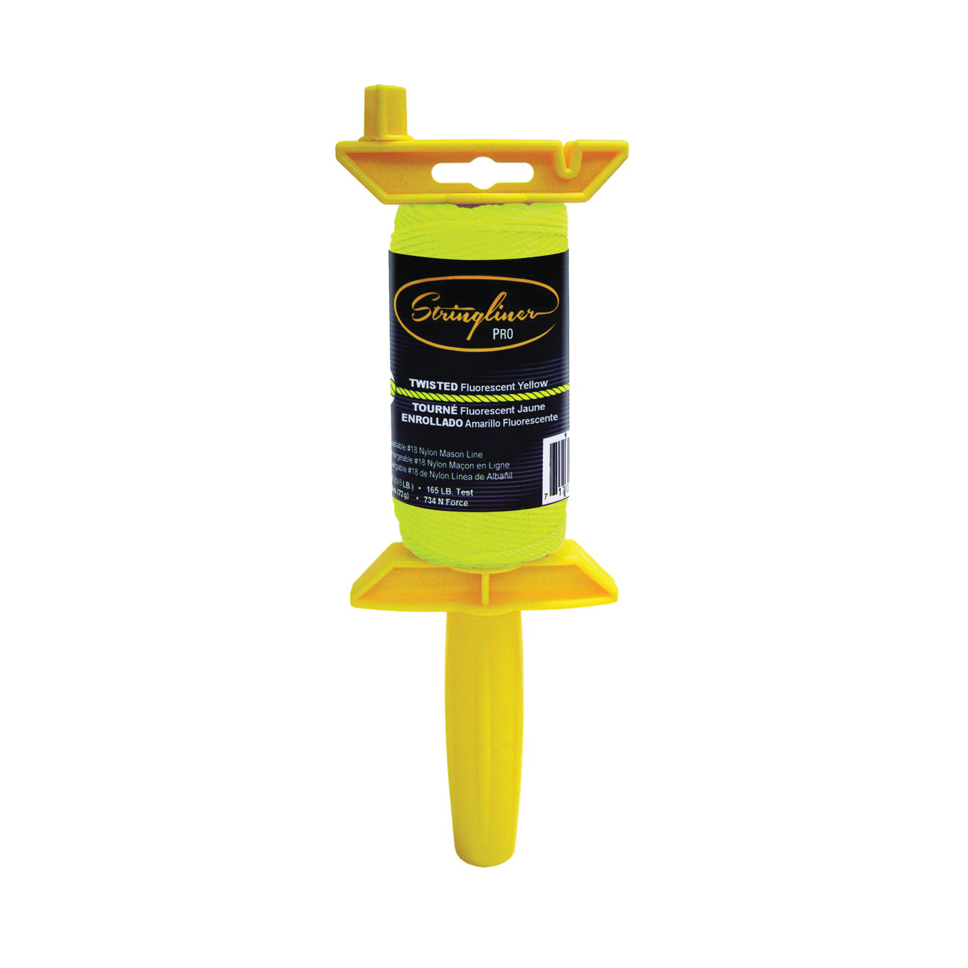 Picture of Stringliner 25012 Line Reel, 135 ft L Line, Fluorescent Yellow Line