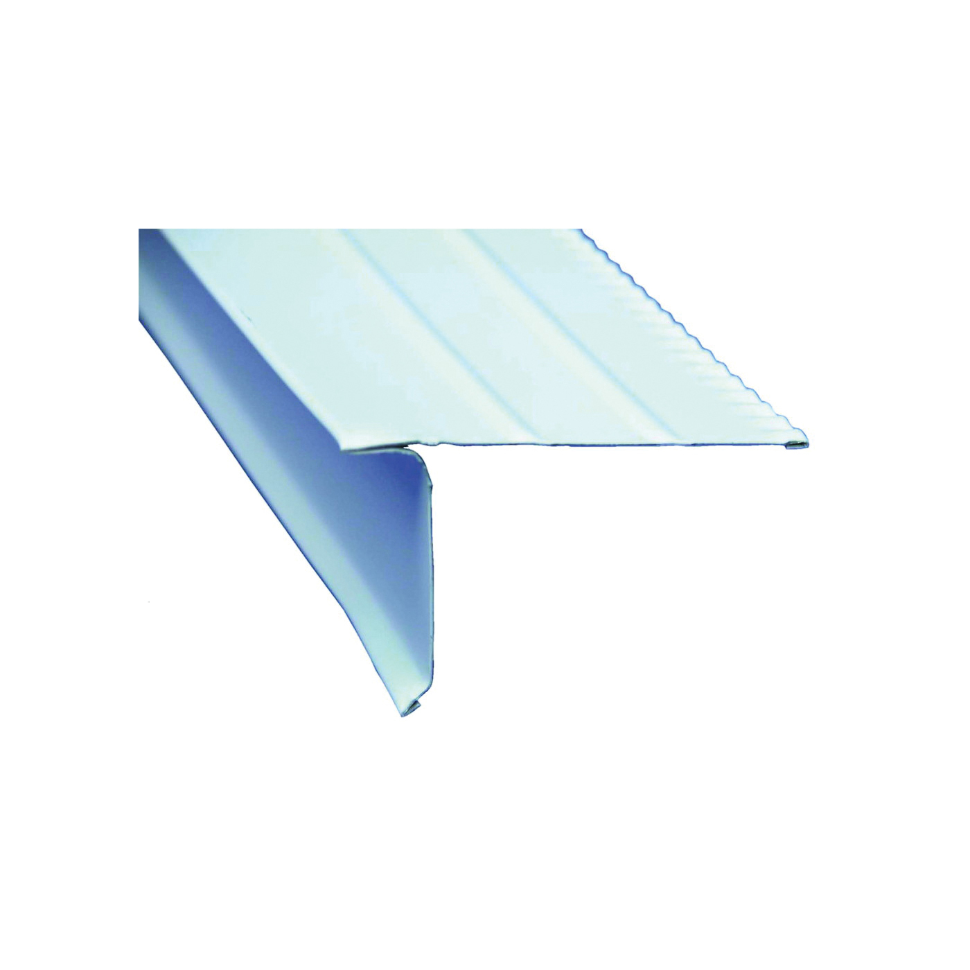 Picture of Amerimax F55OWB Roof Edge, 10 ft L, Aluminum, White