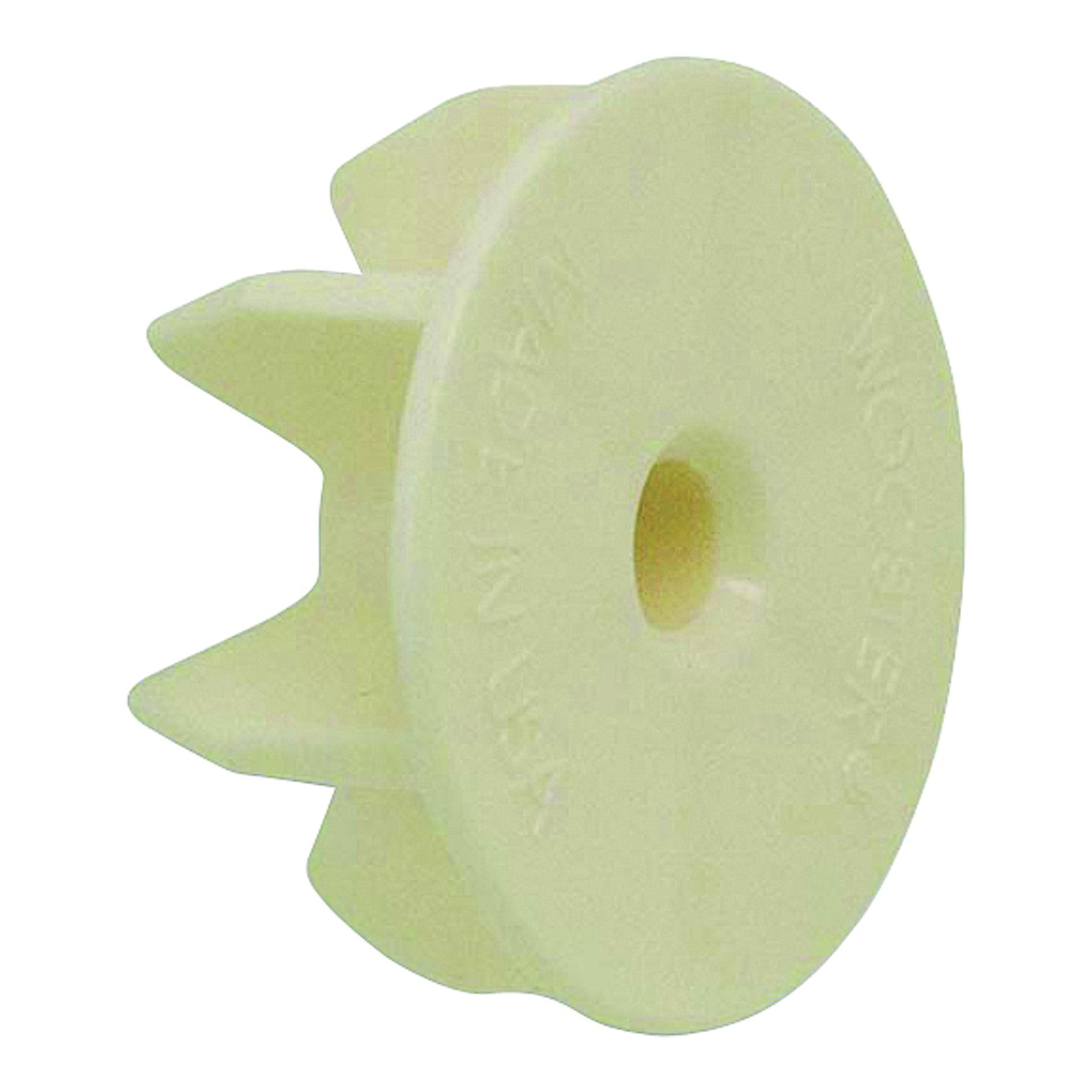 Picture of WOOSTER R087 Roller End Cap, Polypropylene, Ivory, 24, Case