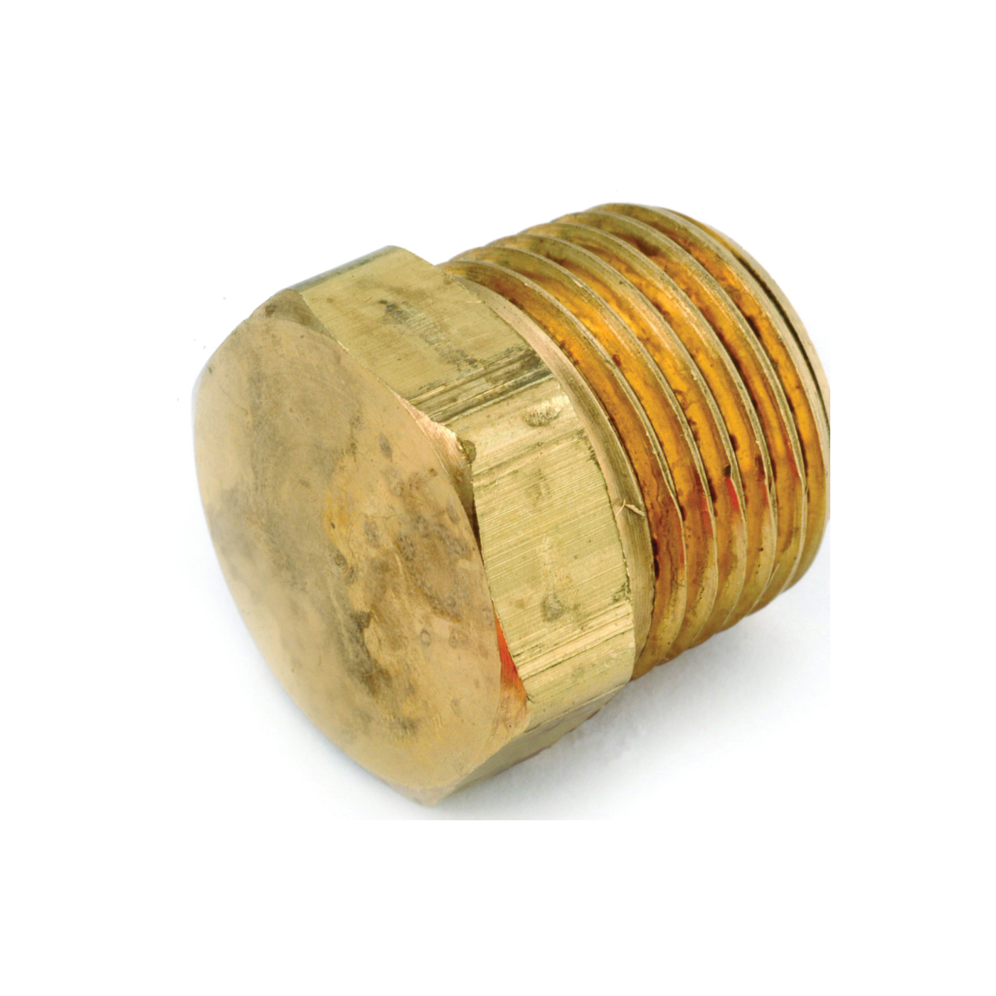 Picture of Anderson Metals 756121-08 Pipe Plug, 1/2 in, MPT, Brass
