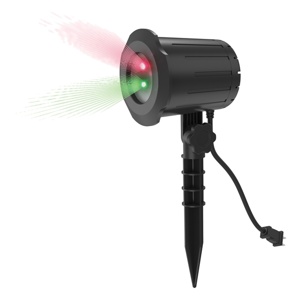 Picture of Prime LFLRG7 Laser Light Projector, 2 -Lamp, Green/Red Light