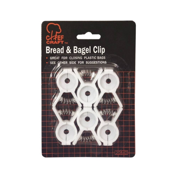 Picture of CHEF CRAFT 20840 Bread and Bagel Clip Set, 6