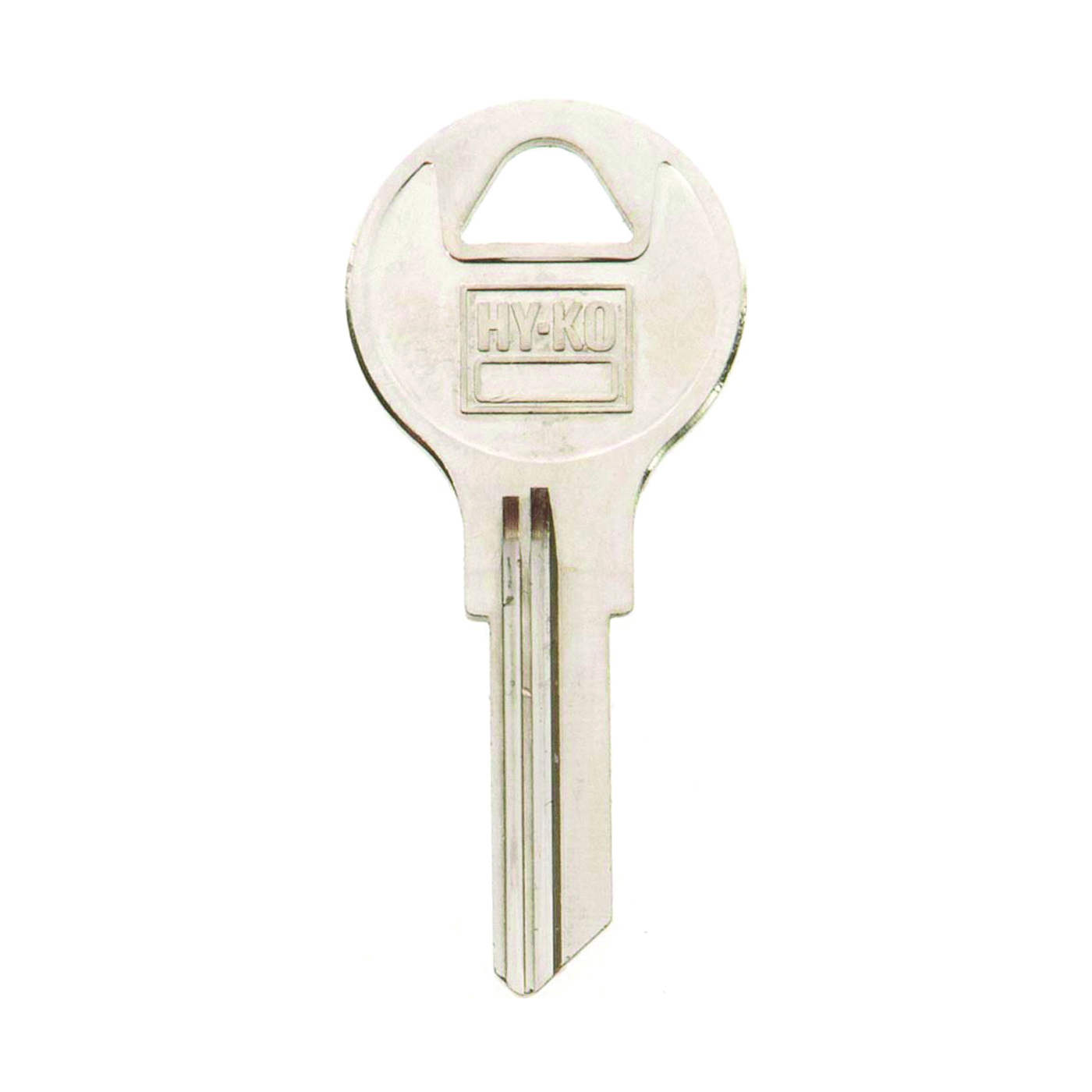 Picture of HY-KO 11010AP2 Key Blank, Brass, Nickel, For: Chicago Cabinet, House Locks and Padlocks