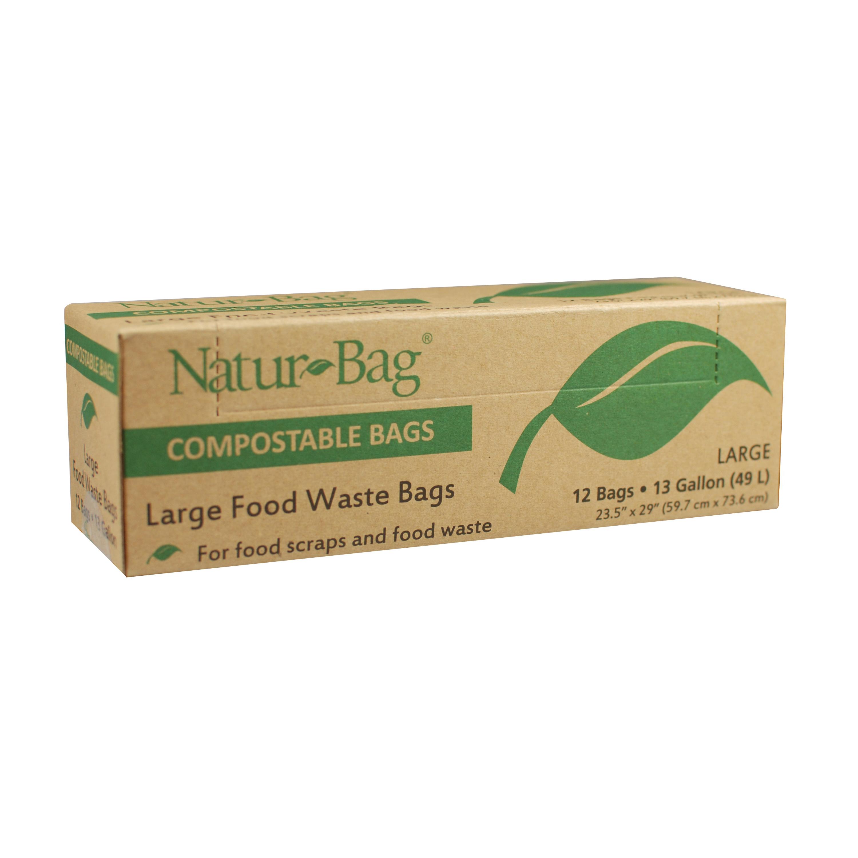 Picture of NATUR-TEC NT1075-RTL-00007 Trash Bags, 13 gal Capacity