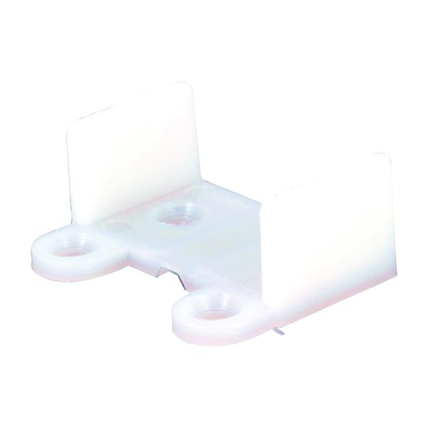 Picture of Prime-Line N 6565 Door Floor Guide, Plastic, White, Floor Mounting