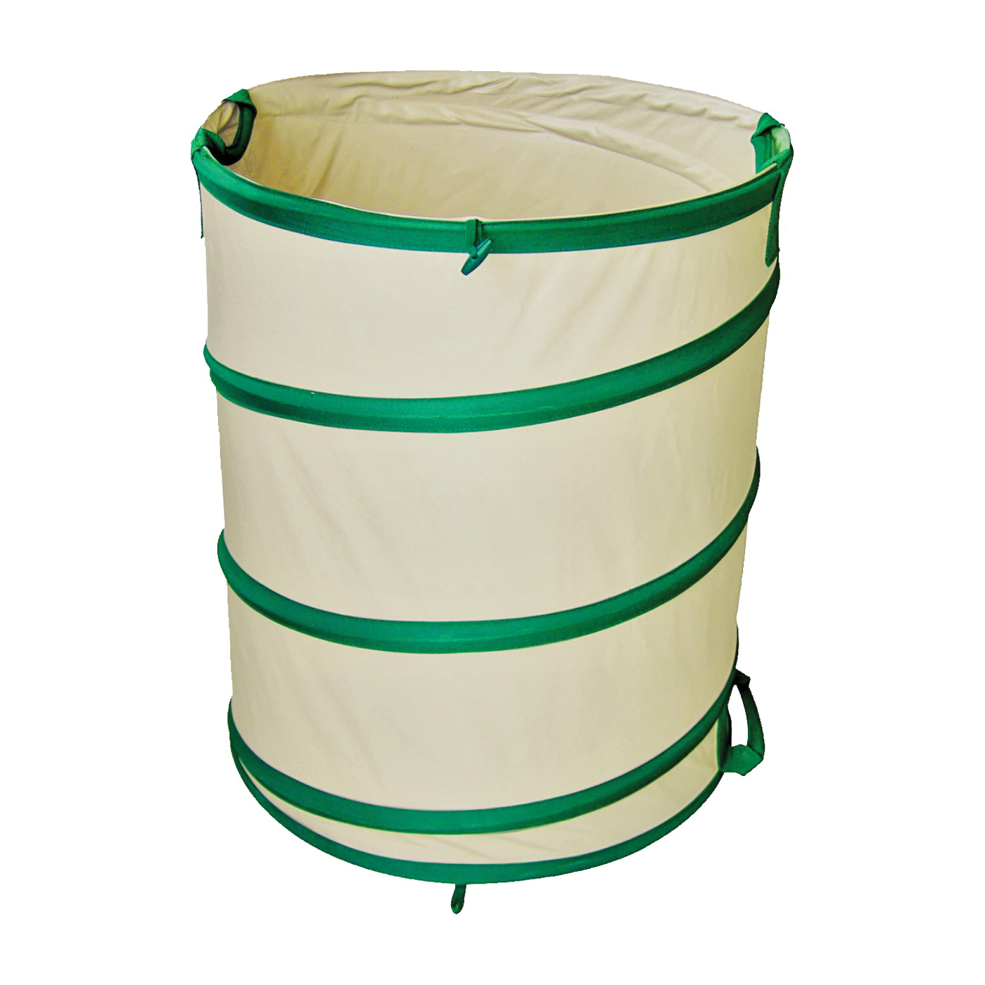 Picture of Landscapers Select GB-6001-3L Garden Bag, 27 in L, 2 H x 22 Dia in, 45 gals Capacity, PVC, Beige