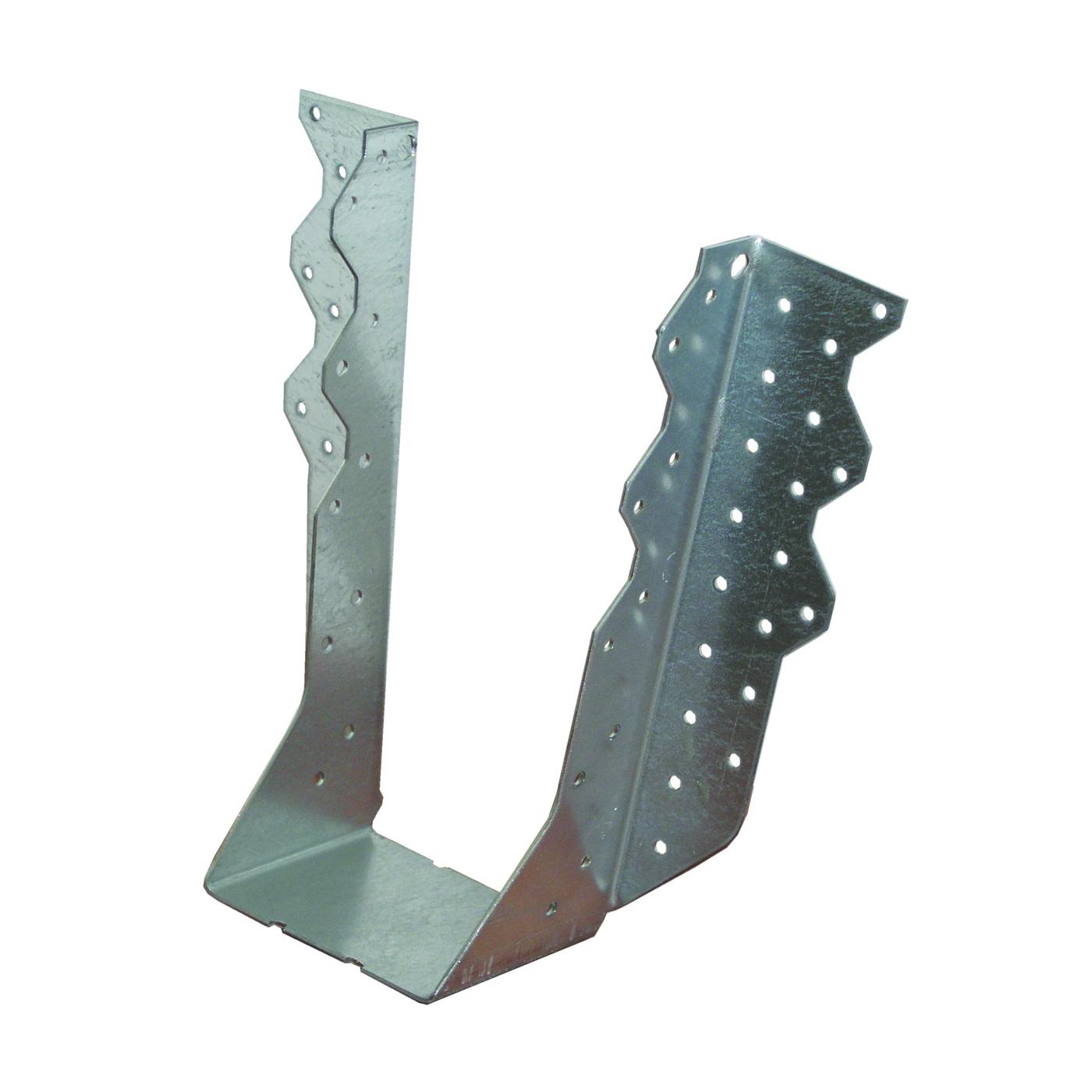 Picture of MiTek THD410 Truss Hanger, 9-1/16 in H, 3 in D, 3-5/8 in W, 3-1/2 in x 9-1/4 to 14 in, Steel, G90 Galvanized