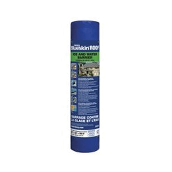 Picture of Henry HERF200916 Roofing Underlayment, 65 ft L, 3 ft W, Polyethylene, Blue