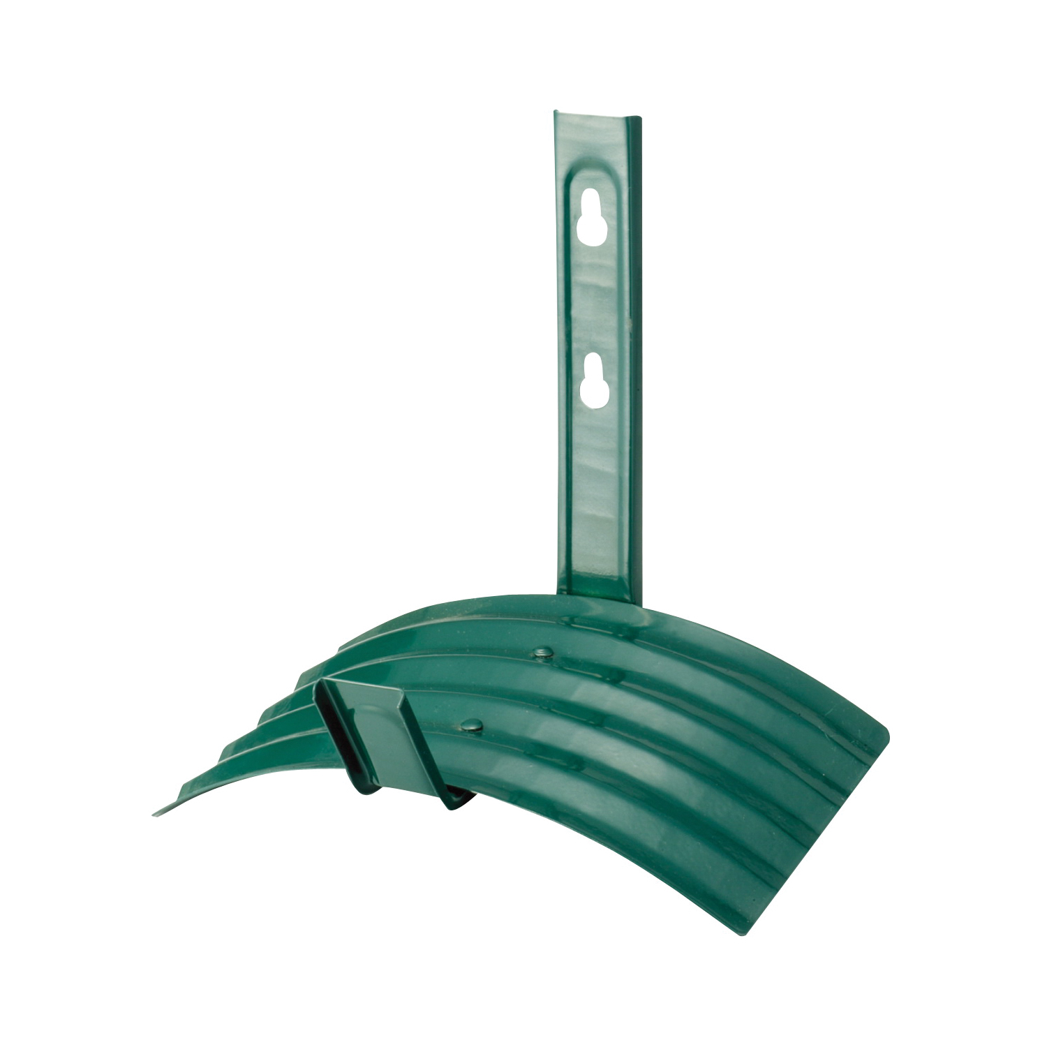 Picture of Landscapers Select GB-5227-3L Hose Hanger, 60 ft Capacity, Metal, Matte Green, Powder-Coated, Wall Mounting