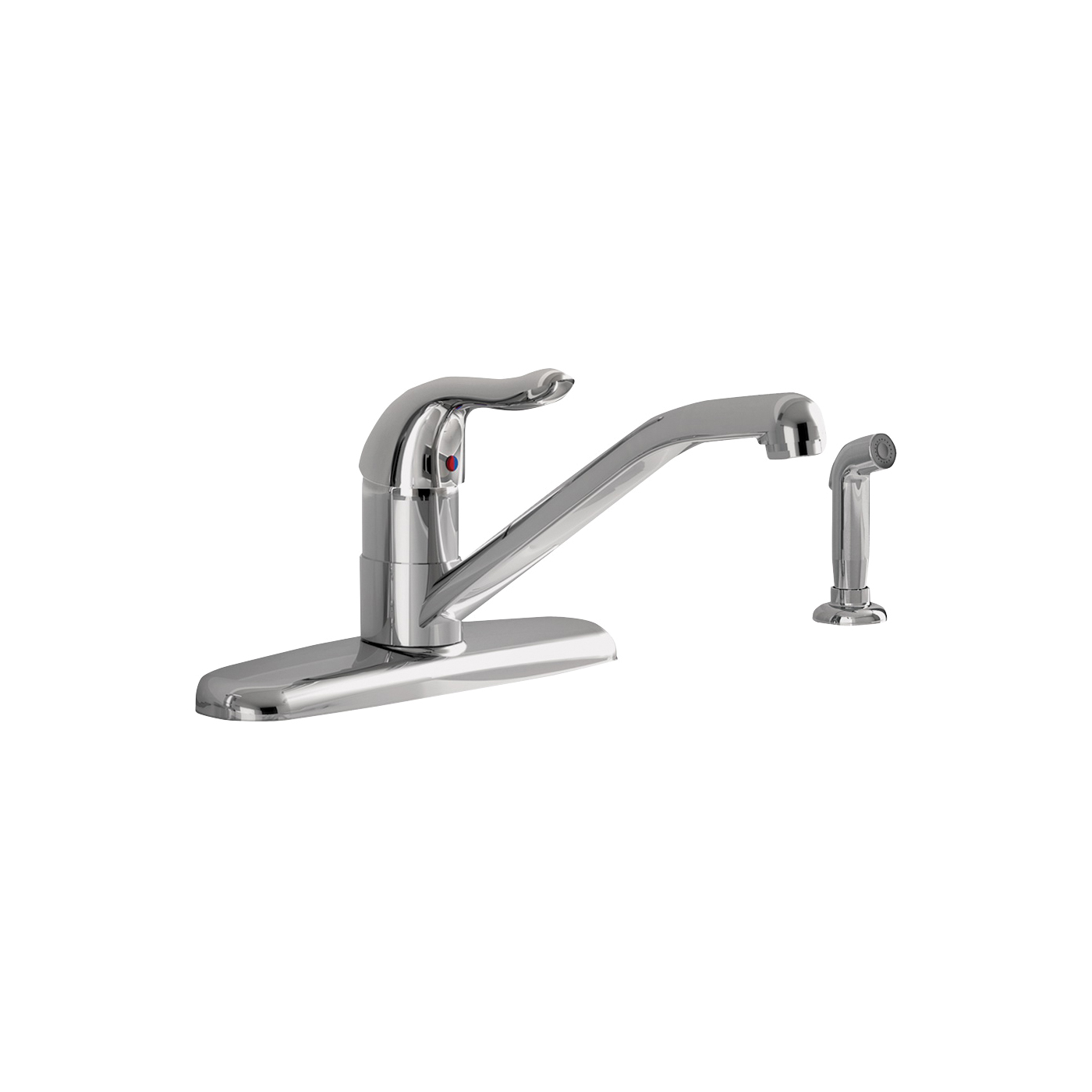 Picture of American Standard Jocelyn 9316.001.002 Kitchen Faucet with Side Spray, 1.8 gpm, 1-Faucet Handle, Brass