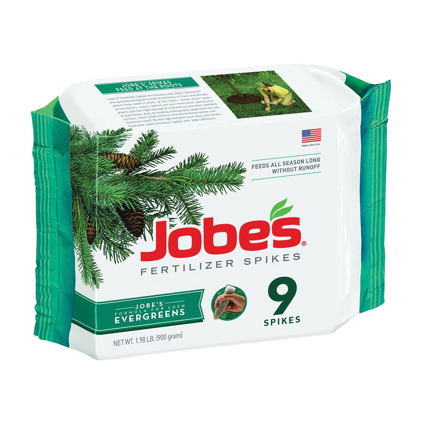 Picture of Jobes 01311 Fertilizer Spike, Spike, Brown, Slight Ammonia