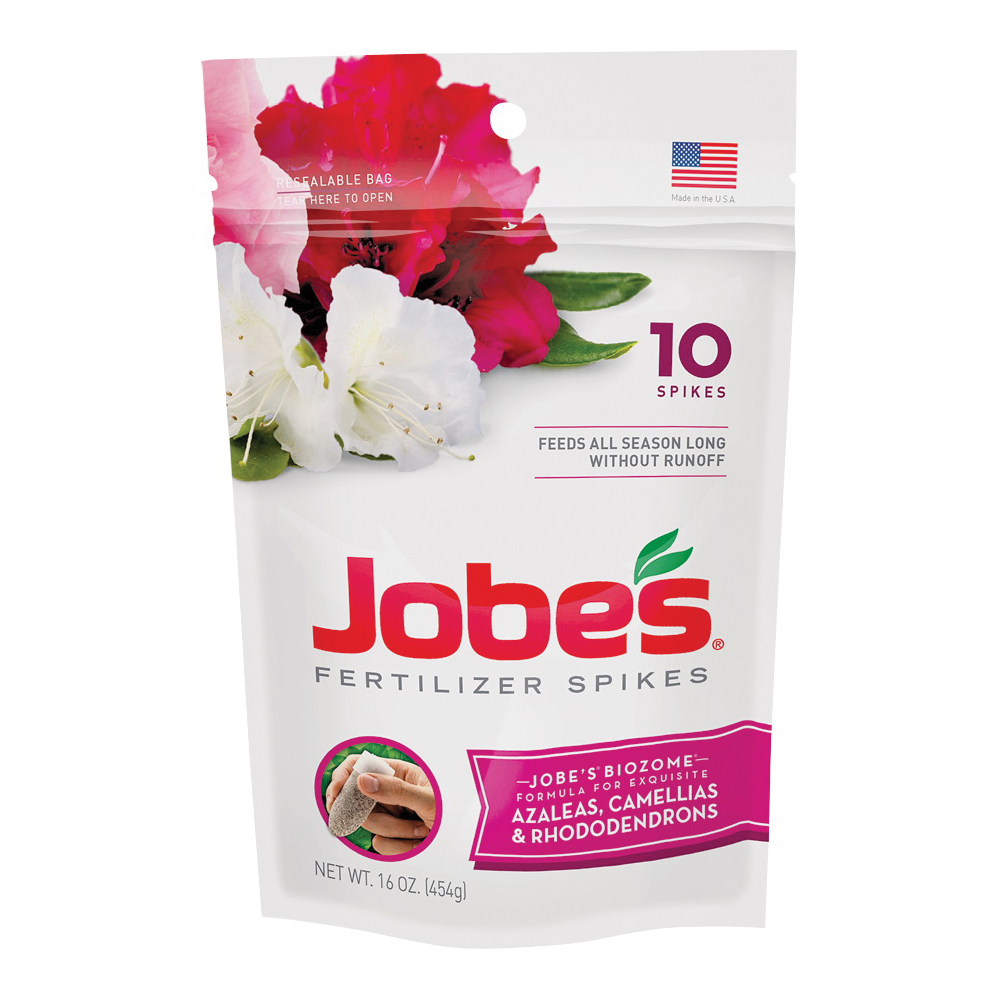Picture of Jobes 04101 Fertilizer Spike Pack, Spike, Gray/Light Brown, Slight Ammonia, Pack