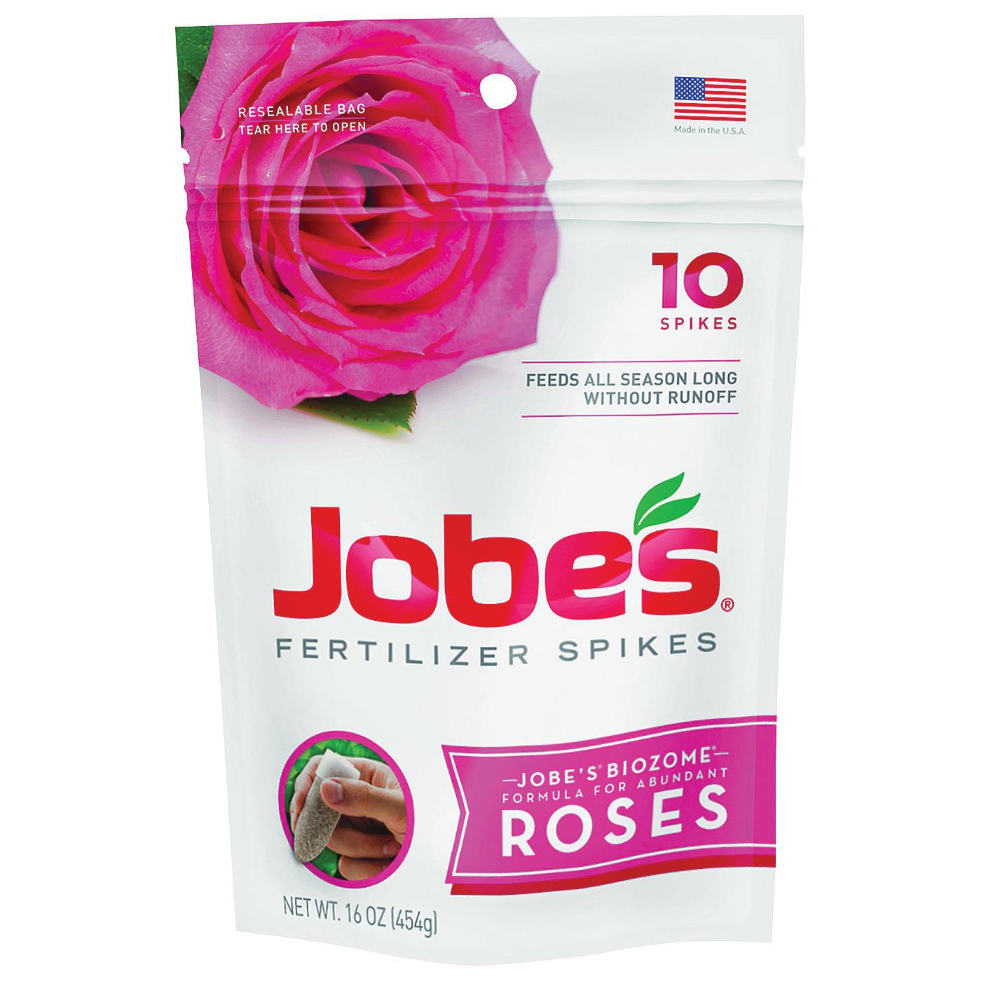 Picture of Jobes 04102 Fertilizer Spike Pouch, Spike, Gray/Light Brown, Slight Ammonia, Pouch