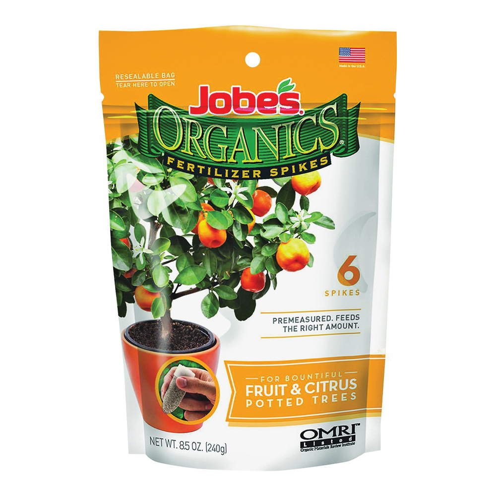 Picture of Jobes 04226 Fertilizer Spike Pack, Spike, Brown, Organic, Pack