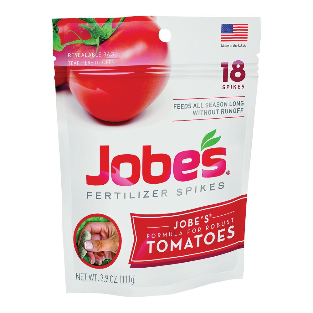 Picture of Jobes 06005 Fertilizer Spike Blister Pack, Spike, Gray/Light Brown, Slight Ammonia, Blister Pack