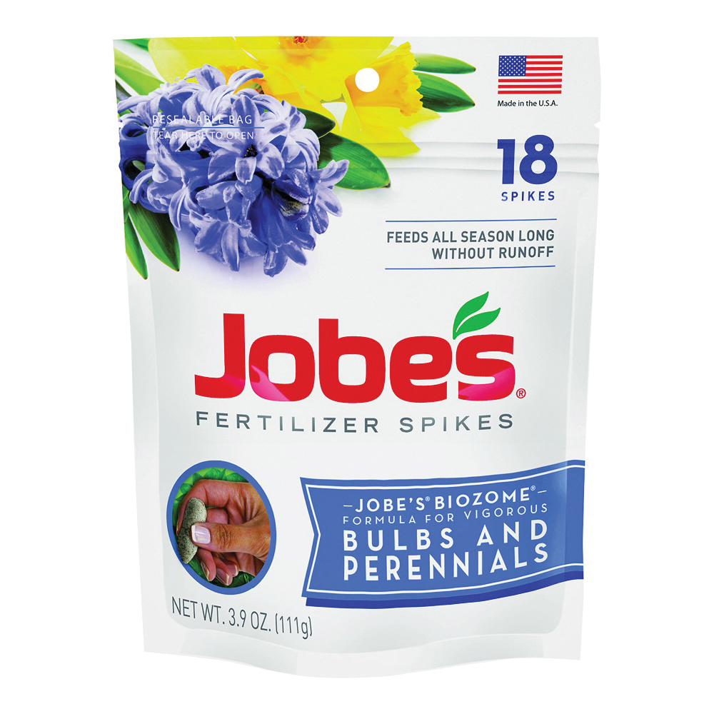 Picture of Jobes 06205 Fertilizer Spike Pouch, Spike, Reddish Gray, Slight Ammonia, Pouch