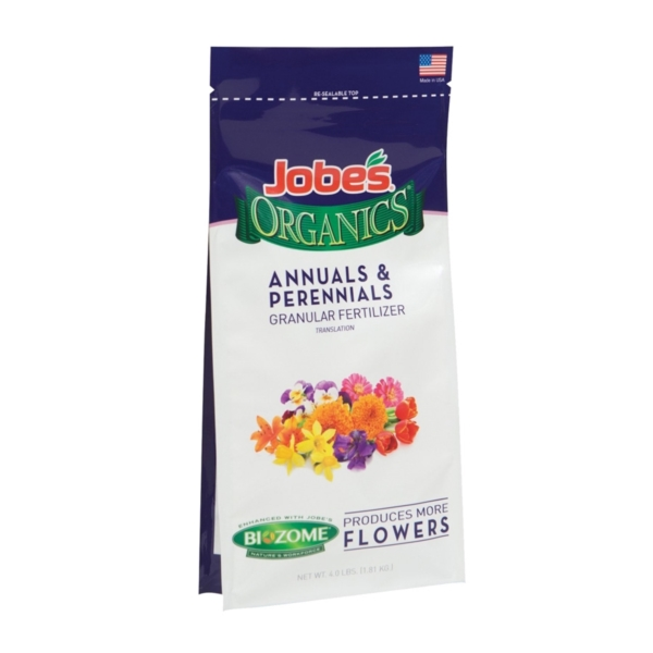 Picture of Jobes 09627 Annuals and Perennials Granular, Granular, Solid, 4 lb Package