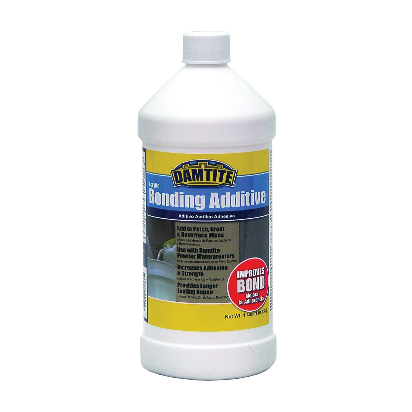 Picture of DAMTITE 05160 Bonding Additive, Liquid, Ammonia, White, 1 qt Package, Bottle