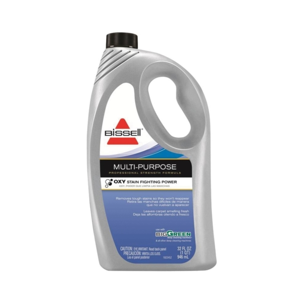 Picture of BISSELL 85T6 Carpet Cleaner, 32 oz Package, Bottle, Liquid, Characteristic, Pale Yellow