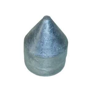 Picture of Stephens Pipe & Steel HD42040RP Bullet Cap, Zero-Way, Aluminum