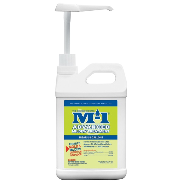 Picture of M-1 AMCP Advanced Mildew Treatment, 4.5 lb Package, Liquid, Yellow