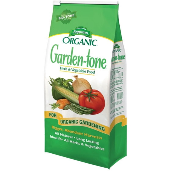 Picture of ESPOMA Garden-Tone GT18 Plant Food, Granular, 18 lb Package, Bag