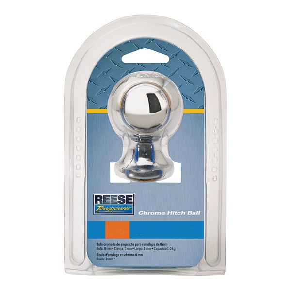 Picture of REESE TOWPOWER 74013 Hitch Ball, 1-7/8 in Dia Ball, 3/4 in Dia Shank, 2000 lb Gross Towing, Steel