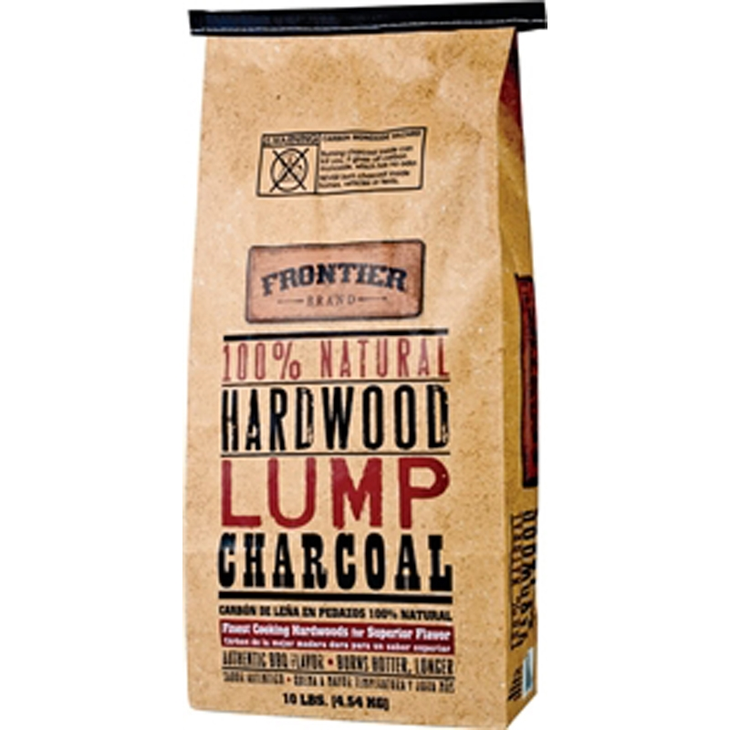 Picture of Frontier LCR10 Hardwood Charcoal, 10 lb Package