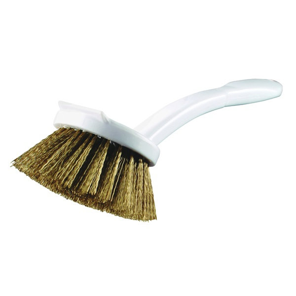 Picture of Quickie 103 Cookware Brush, Poly Fiber/Steel Bristle, Plastic Handle