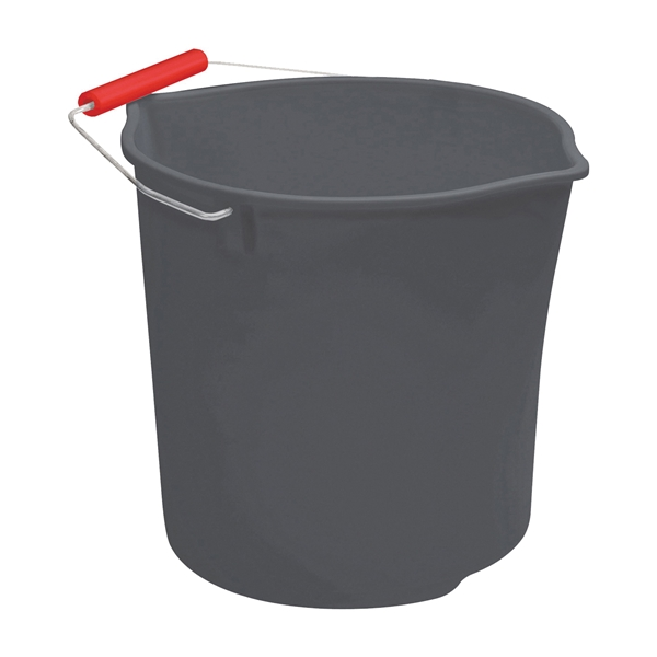 Picture of Rubbermaid Neat N Tidy 1899403 Bucket, 11 qt Capacity, Plastic, Black