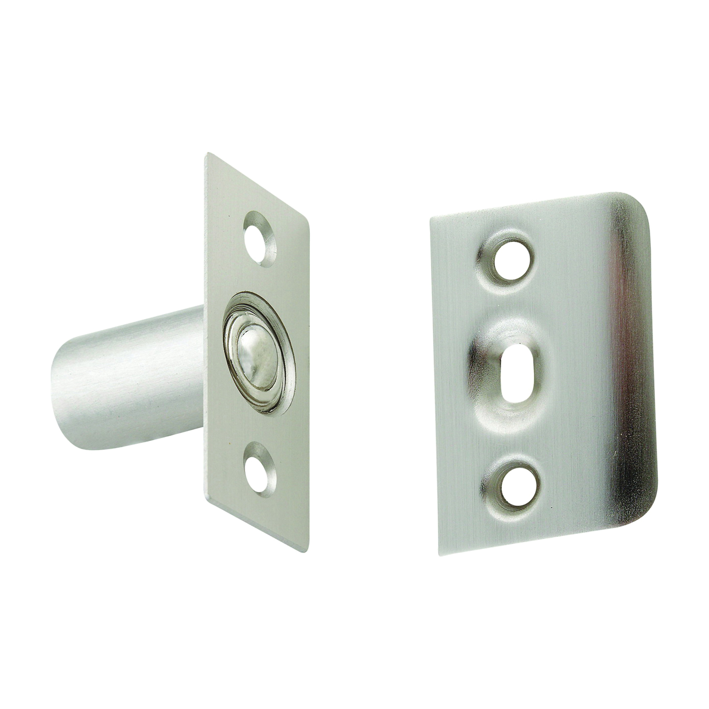 Picture of National Hardware MPB716 Series N830-282 Ball Catch, Steel, Satin Nickel