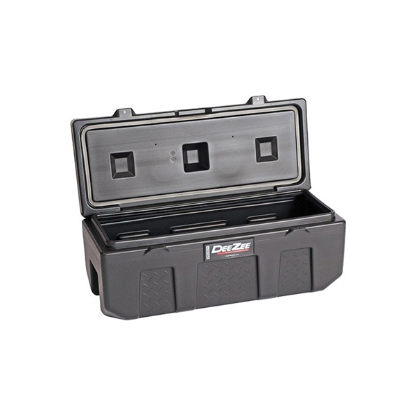 Picture of DEE ZEE DZ6535P Storage Chest, 3.6 cu-ft, 35 in L, 14 in W, 13 in H, Poly, Black