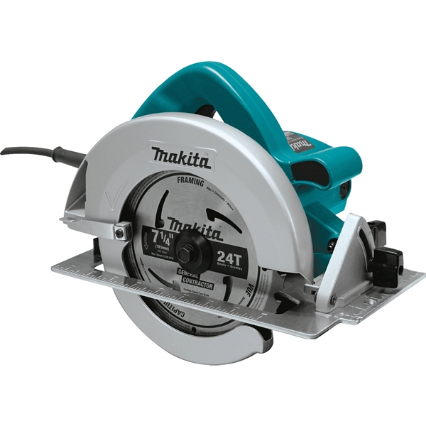 Picture of Makita 5007F Circular Saw, 115 V, 15 A, 2000 W, 7-1/4 in Dia Blade, 5/8 in Arbor, 0 to 45 deg Bevel