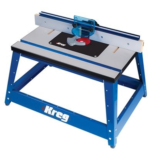 Picture of Kreg PRS2100 Precision Benchtop Router Table, 20 in W Stand, 28-1/4 in D Stand, 20-1/4 in H Stand, Fiberboard