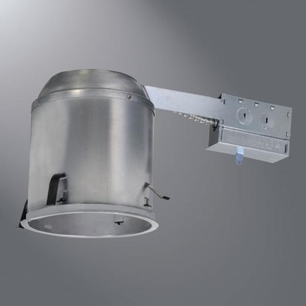 Picture of Halo H7RICAT Recessed Housing, 6 in Dia Recessed Can, Aluminum