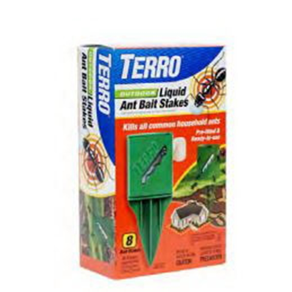 Picture of TERRO T1812P Ant Bait Stake, Liquid, Sweet, 2 fl-oz Package