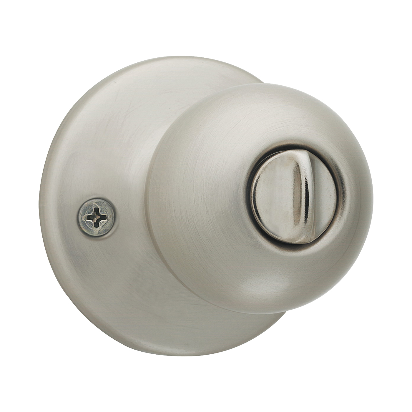 Picture of Kwikset 93001-875 Security Polo Knob Lockset, Satin Nickel
