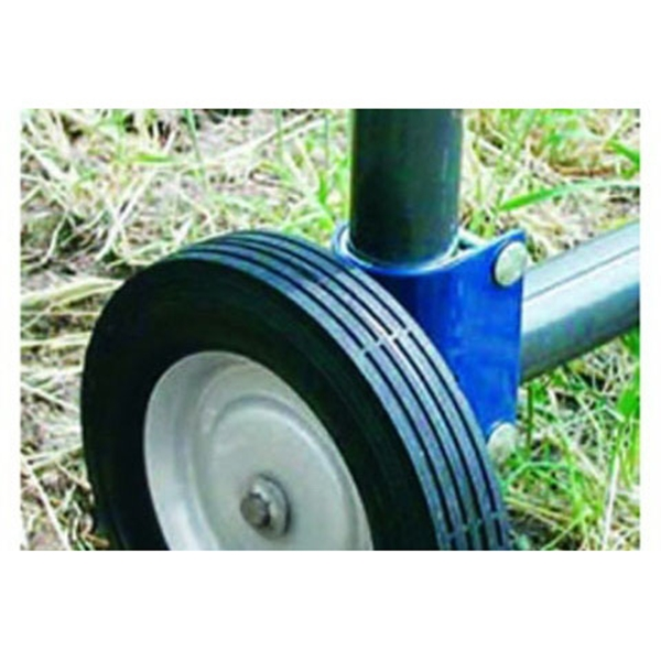 Picture of SpeeCo S16100600 Gate Wheel, Blue, For: 1-5/8 to 2 in OD Round Tube Gate