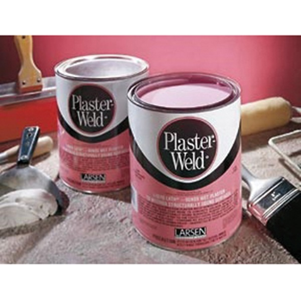 Picture of Larsen Plaster-Weld PWG04 Bonding Agent, Liquid, Low to Slight Acetic, Pink, 1 gal Package, Pail